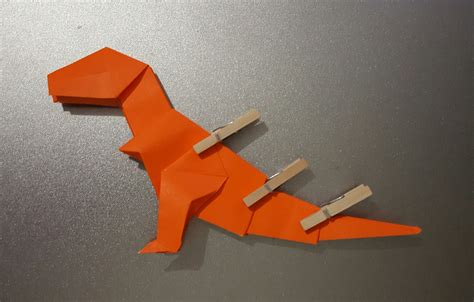 origami t rex origami t rex and diagrams jo nakashima