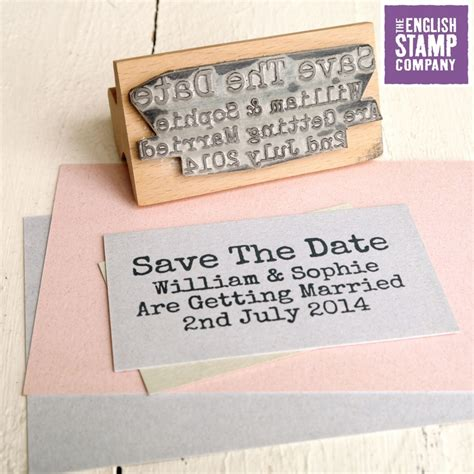rubber st save the date discover and save creative ideas