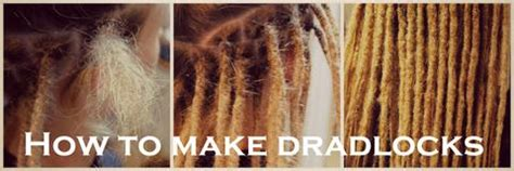 how to make dread how to make dreadlocks hairstyles
