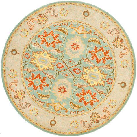 10 foot rugs safavieh heritage light blue ivory 10 ft x 10 ft