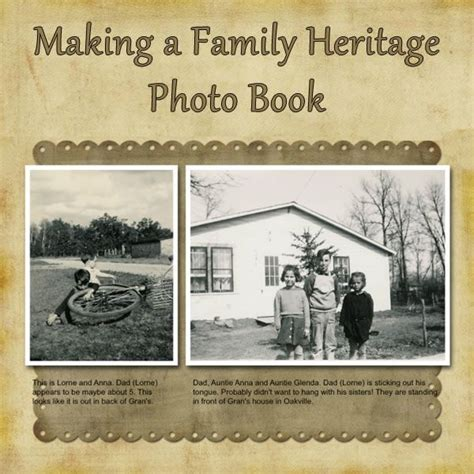 family picture books 25 best ideas about family history book on