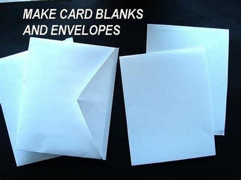 how to make a greeting card envelope make card blanks and envelopes how to diy greeting cards