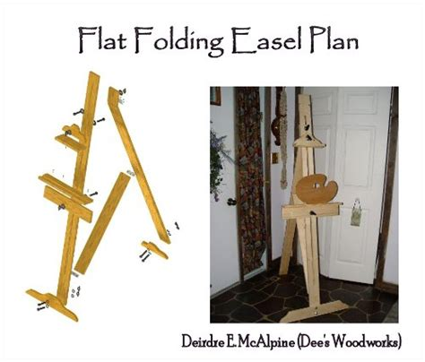 artist easel woodworking plans ideasandtools ideasandtools