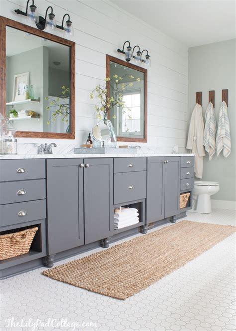 master bathroom cabinet ideas lake house master bath makeover the lilypad cottage