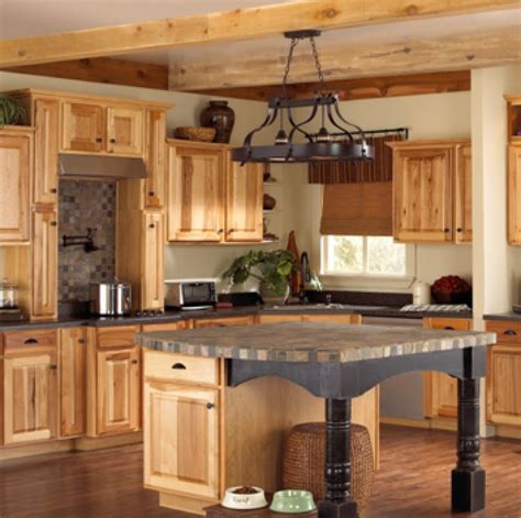 lowes hickory kitchen cabinets hickory kitchen cabinet pictures and ideas