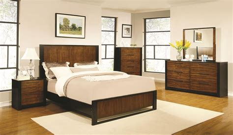 low profile bedroom furniture coronado cherry low profile bedroom set from