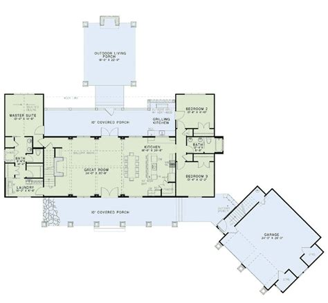 great kitchen floor plan home floor plan of country craftsman farmhouse house plan