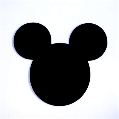 mickey mouse 4 mickey mouse ears die cut disney s mickey
