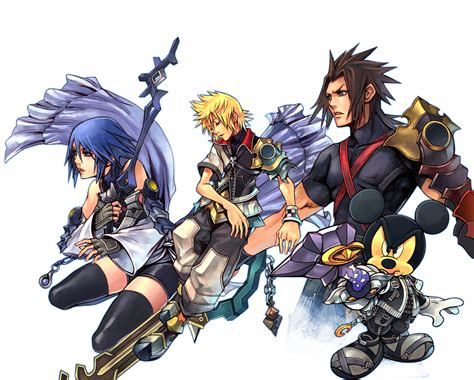 kingdom hearts birth by sleep artwork birth by sleep kingdom hearts insider