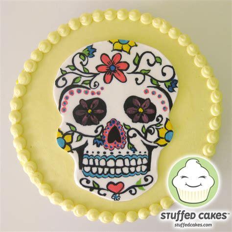 sugar for cakes stuffed cakes sugar skull cake