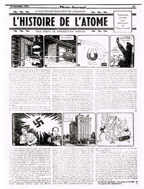 L Histoire De L Atome Photo Journal Wikia La Bd De