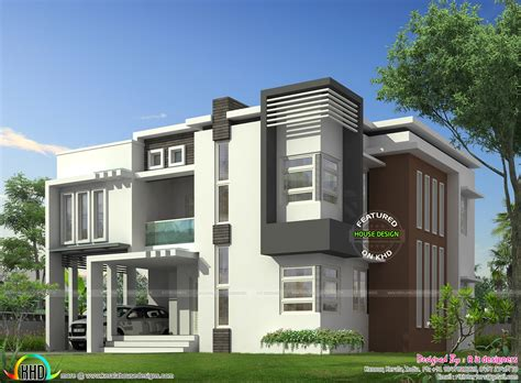 modern home designs plans january 2016 kerala home design and floor plans