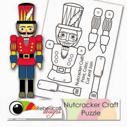 nutcracker crafts for u printables by rebeccab free printable nutcracker
