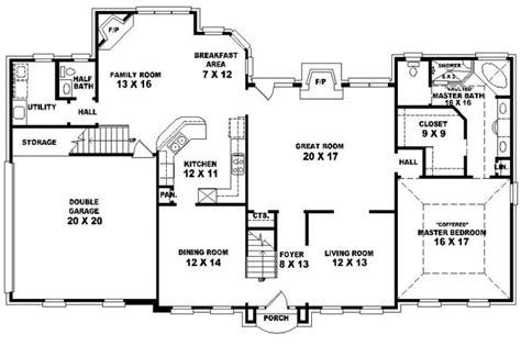 4 bedroom 4 bath house plans 4 bedroom 3 bath house plans homes floor plans