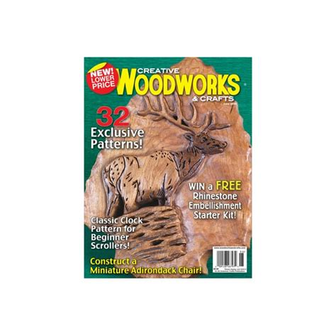 Creative Woodworks Crafts Magazine Subscription