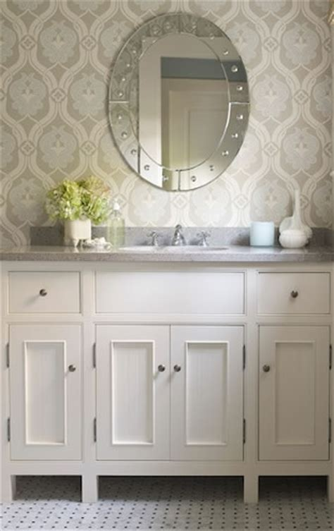 designer bathroom wallpaper kelsey m design wallpaper wednesday bathrooms