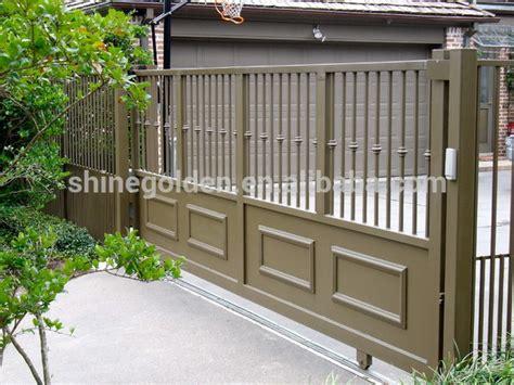 paint colors gate folding gate metal door frame steel entry gyd