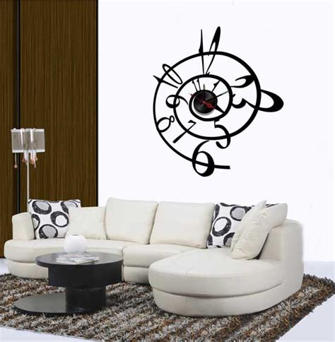 sticker wall clock modern vinyl wall decals wall stickers wall quotes