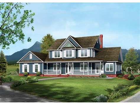 2 story farmhouse plans two story country house plans escortsea