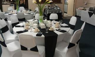 black and white theme black and white wedding decor decoration