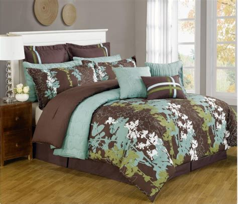 brown and white comforter sets cheap blue and brown bedding sets comforter brown