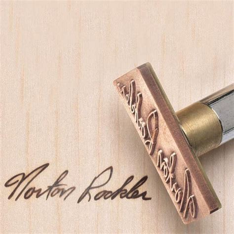 Signature Branding Iron Electrically Heated Rockler