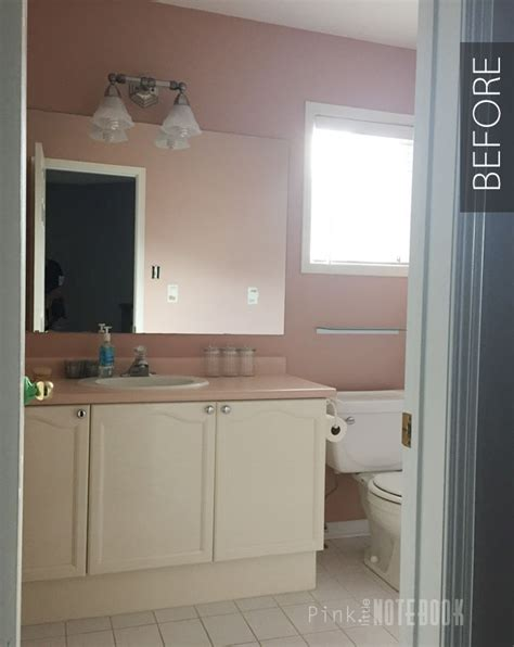 Bathroom Makeover On A Budget by Diy Bathroom Makeover On A Budget Pink