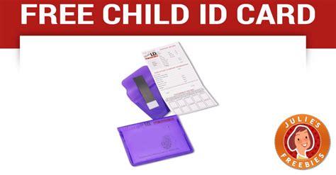 id card free free child id safety card julie s freebies