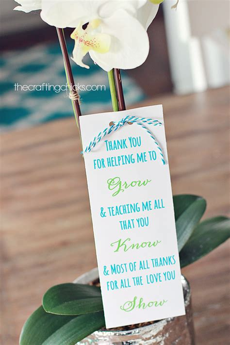 gift poem ideas plant gift idea free printable poem the