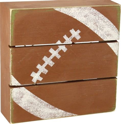football craft projects football pallet crafts direct