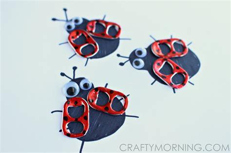 pop tab crafts for soda pop tab ladybug craft crafty morning