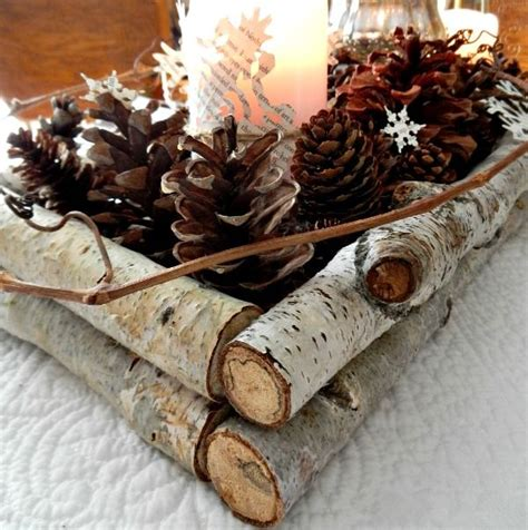 pine cone centerpieces top 20 winter wedding ideas with pines