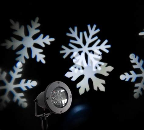 snowflake outdoor lights versonel led snowflake outdoor projection laser light