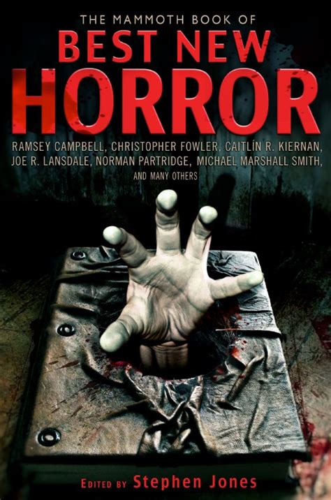 horror picture books stephen jones the mammoth book of best new horror volume