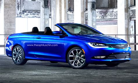 2015 Chrysler 200 Convertible Price by 2015 Chrysler 200 Rendered In Convertible Clothing We