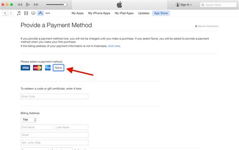make apple id no credit card how to create free apple id without a credit card