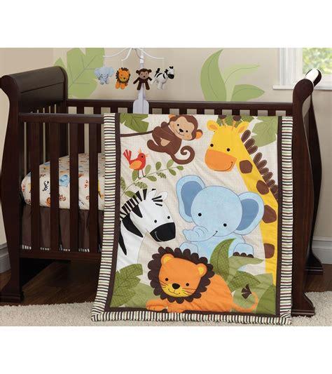 jungle nursery bedding sets bedtime originals jungle buddies 3 crib bedding set
