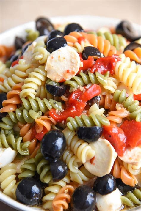pasta salad recipe mayo tri color pasta salad recipe with mayo