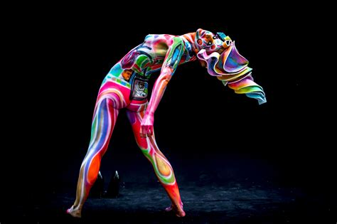 daegu painting festival 2015 partially bodies transformed into masterpieces