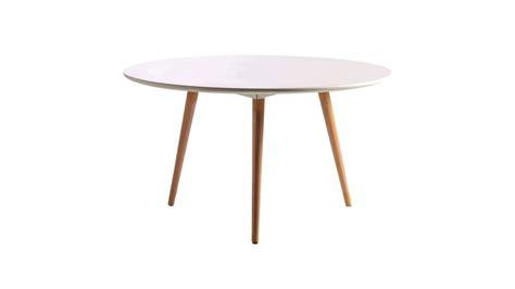 table basse bois ronde pas cher wraste