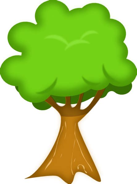 trees clipart soft trees clip at clker vector clip