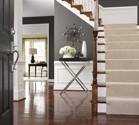 paint colors for entrance hallway foyer wainscoting transitional entrance foyer alex