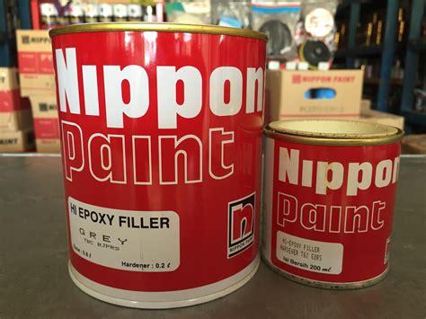 beli chalk paint di indonesia jual epoxy filler nippon paint 2k grey white harga murah