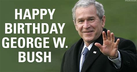 tales from a tribble happy birthday president george w bush