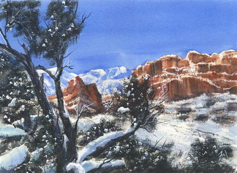 Garden Of The Gods Winter Untitled Fordpaints