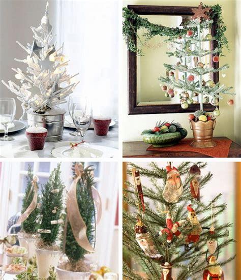 mini tree decorating ideas miniature tabletop tree decorating ideas