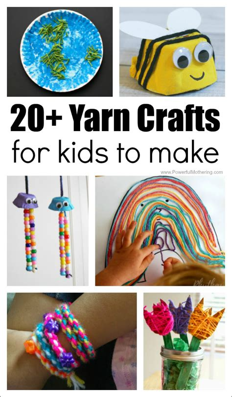 how to make arts and crafts for 20 absolutely fantastic yarn crafts for to make