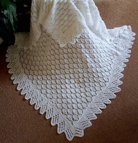 baby shawl knitting patterns beautiful baby shawl blanket knitted lace on