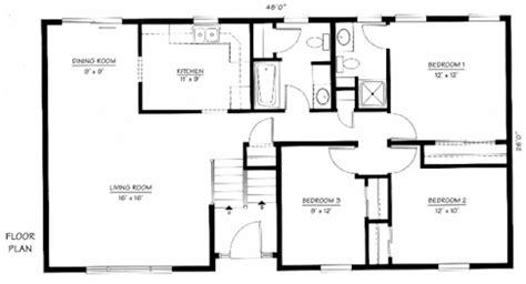bi level home plans bi level house floor plans find house plans