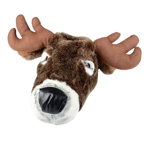 for adults and reindeer moose novelty slippers